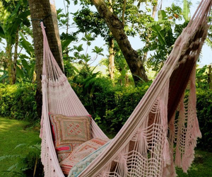 summer, hammock, and relax image
