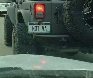 license plates, west virginia, and words image
