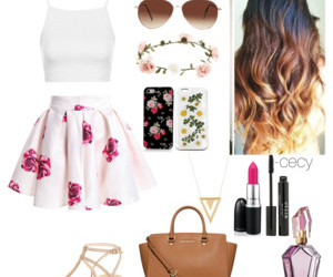 outfit, girls, and Polyvore image