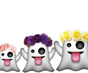 boo, wallpaper, and flowers image