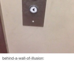 elevator, funny, and tumblr image