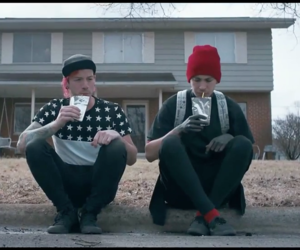twenty one pilots, stressed out, and tyler joseph image