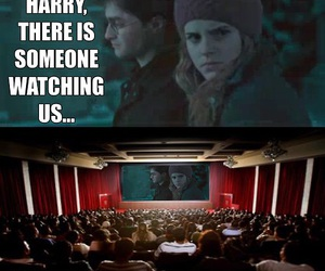 harry potter, funny, and cinema image