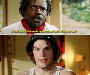 ashton kutcher, movie, and pizza image