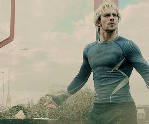 quicksilver, Avengers, and Marvel image
