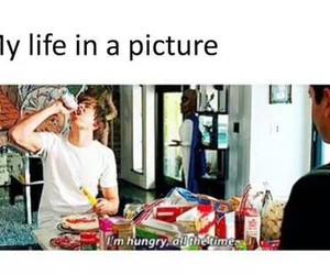 food, funny, and hungry image
