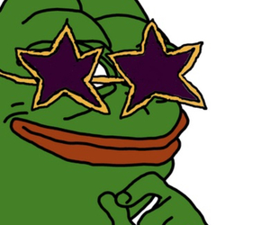 frog, pepe, and sad frog meme image