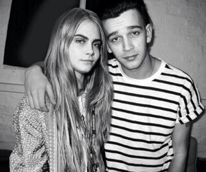 cara delevingne, matty healy, and the 1975 image