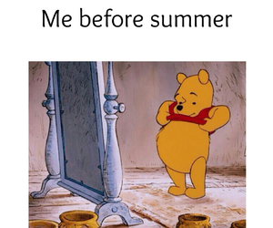 funny, summer, and bear image