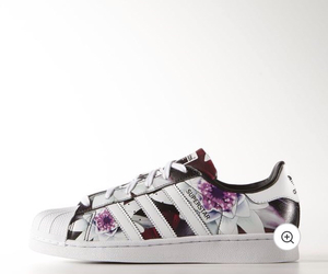 addidas, adidas, and flowers image