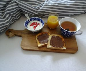 breakfast, cosy, and food image