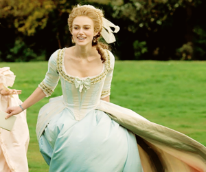 keira knightley, the duchess, and movie image