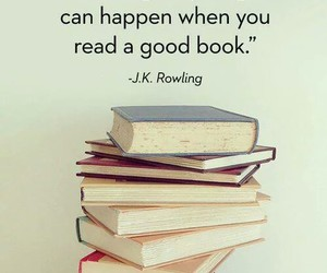 books, j.k. rowling, and harry potter image