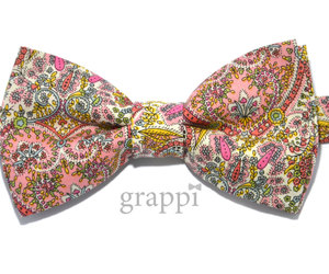 beautiful, bow tie, and dusty pink image