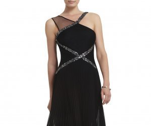 BCBG, dress, and cocktail image
