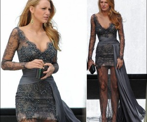 dress, gossip girl, and blake lively image