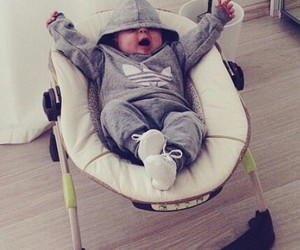 baby, lux, and fashion image