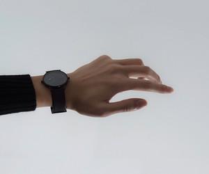 dark, grunge, and hand image