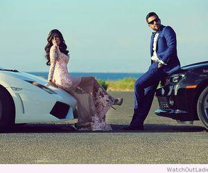 couple, wedding, and fashion image
