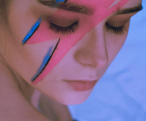 art, cosplay, and david bowie image