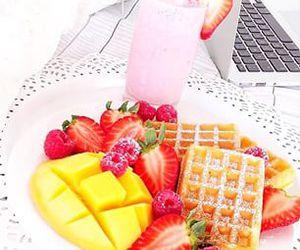 brunch, food, and fruit image