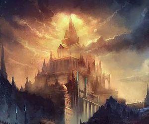 castle, art, and amazing image