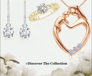 mothers day, diamond jewelry, and mom gift image