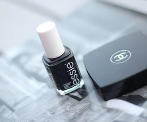 chanel, essie, and black image