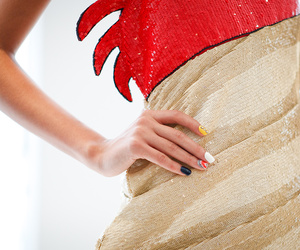 catwalk, fashion, and detail image