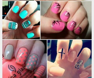 nail art, vernis, and manucure image