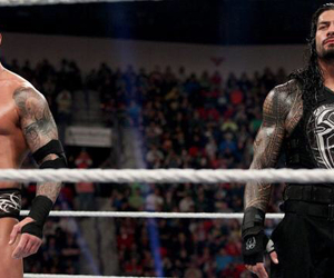 wwe, randy orton, and roman reigns image
