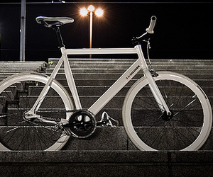bike, fixie, and wood image