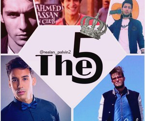 x factor, the five, and arabian boys image