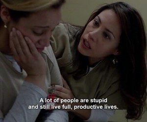 orange is the new black, quote, and oitnb image
