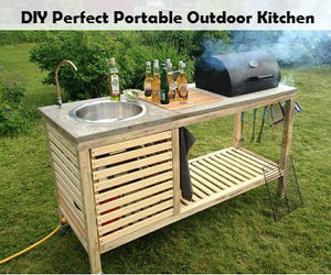 diy, kitchen, and outdoor image