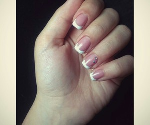 manicure, nails, and simple image