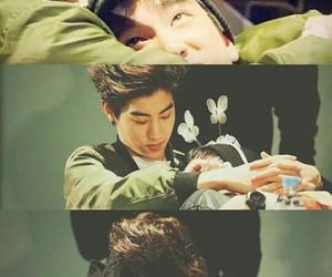couple, mark, and jinyoung image