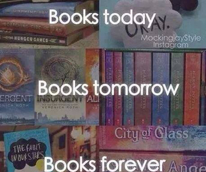 books, forever, and divergent image
