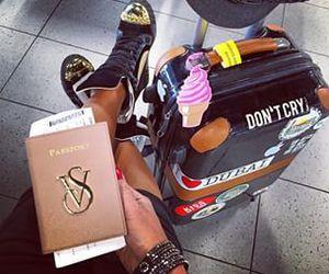 girl and traveler image