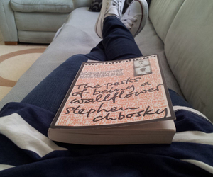 book, converse, and read image