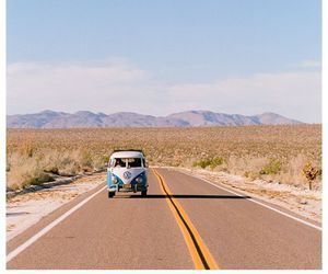 travel, summer, and road image
