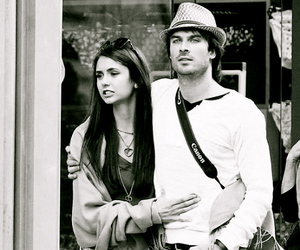 tvd, nian, and ian somerhalder image