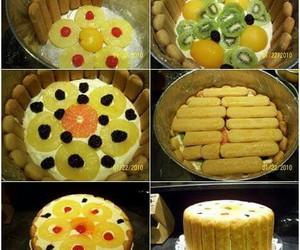 cake, food, and creative idea image