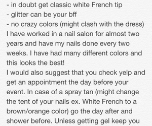 nails, Prom, and promnails image
