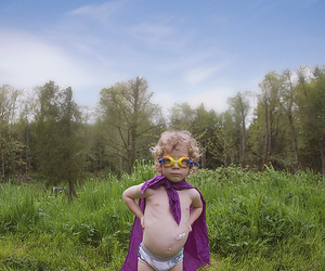 children, superheroes, and special image