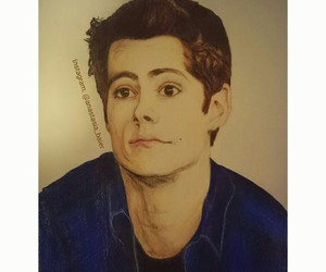 dylan, teenwolf, and instagram image