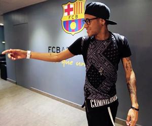 Barca, neymar, and fc barcelona image