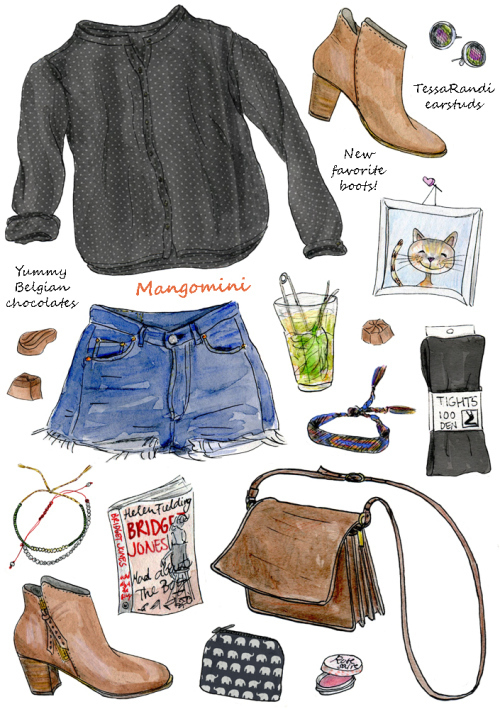 art, outfit, and cute image