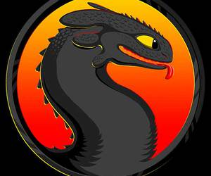 geek, mortal kombat, and how to train your dragon image