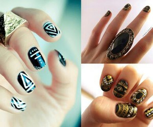beauty, in, and nails image